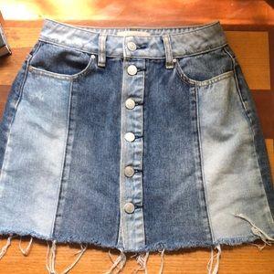 pacsun mini skirt